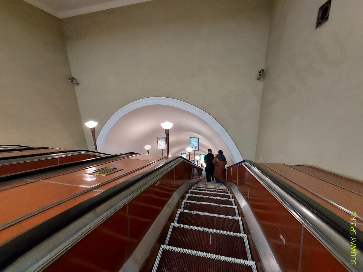 Kirovsky Zavod metro station, Saint-Petersburg