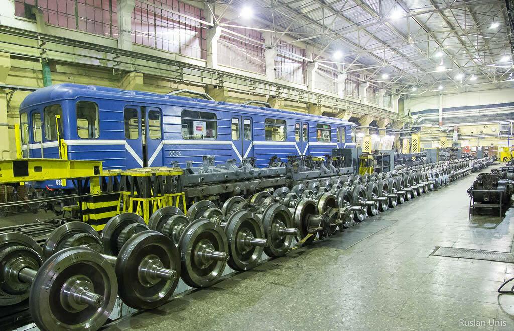 Депо метрополитена ТЧ-1 Автово, Санкт-Петербург