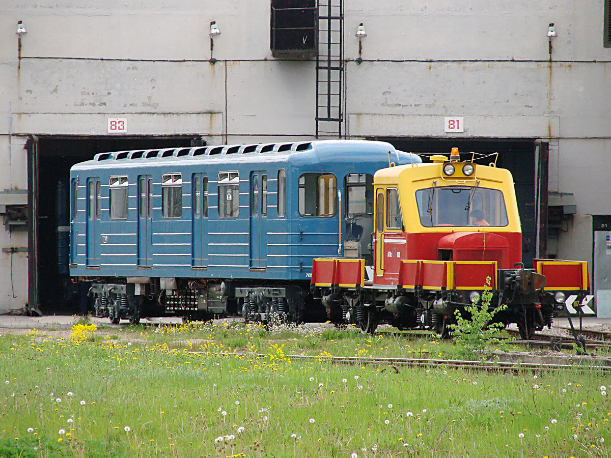 Депо метрополитена ТЧ-2 Дачное, Санкт-Петербург