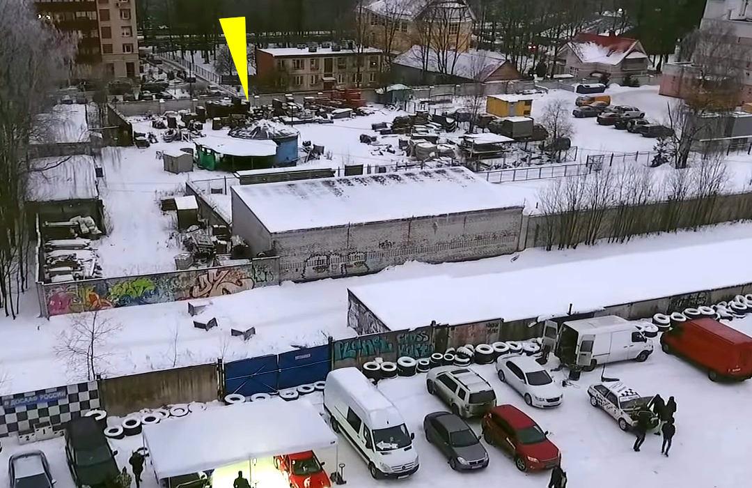 Питерское метро, шахта 321бис объекта 61-25 МЧС России
