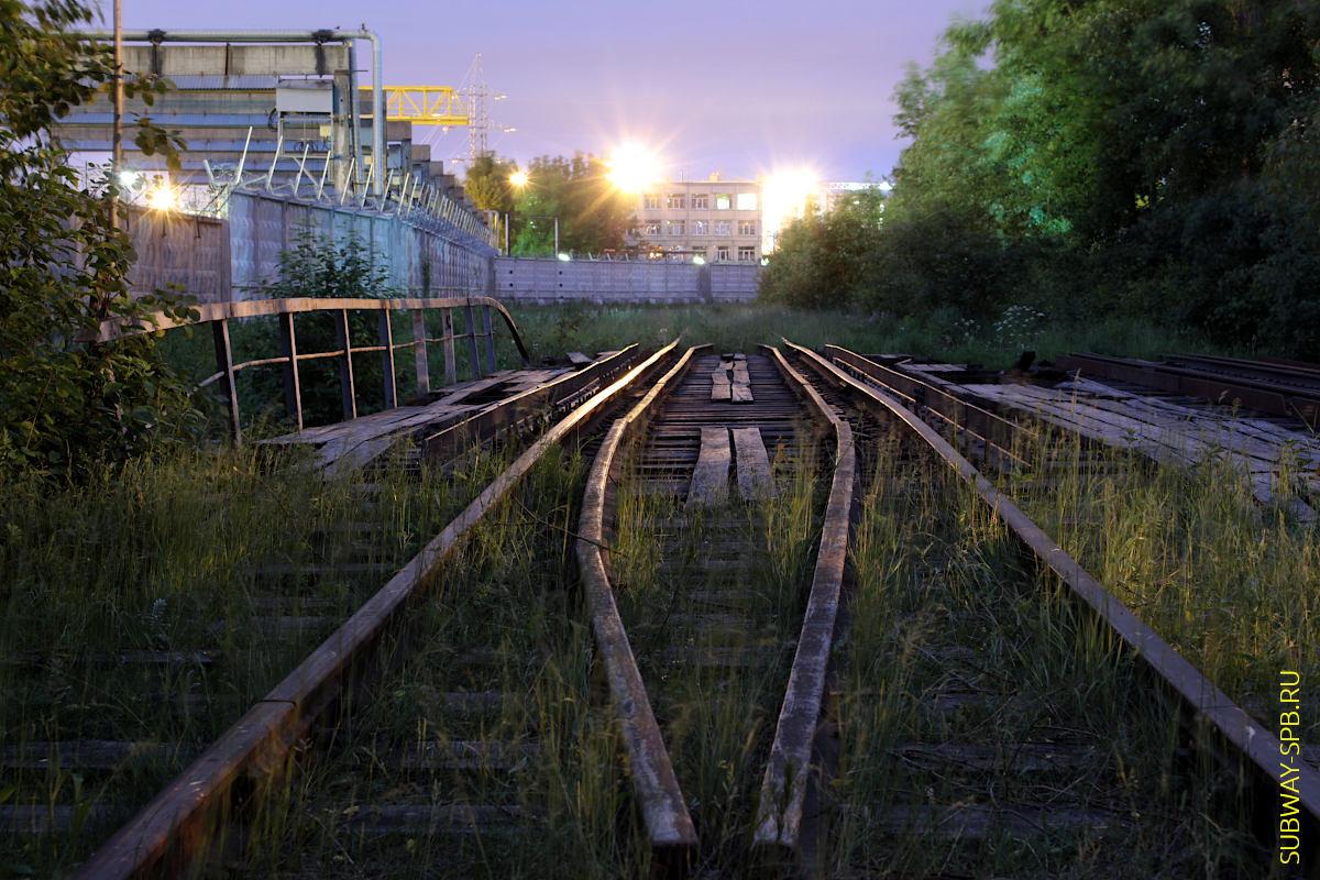 Депо метрополитена ТЧ-3 Московское, Санкт-Петербург