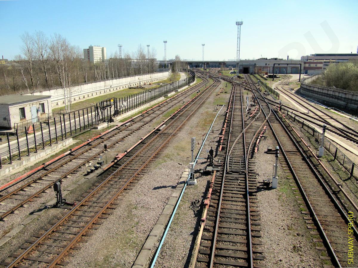 Metro depot TCh-5 Nevskoye, Saint-Petersburg