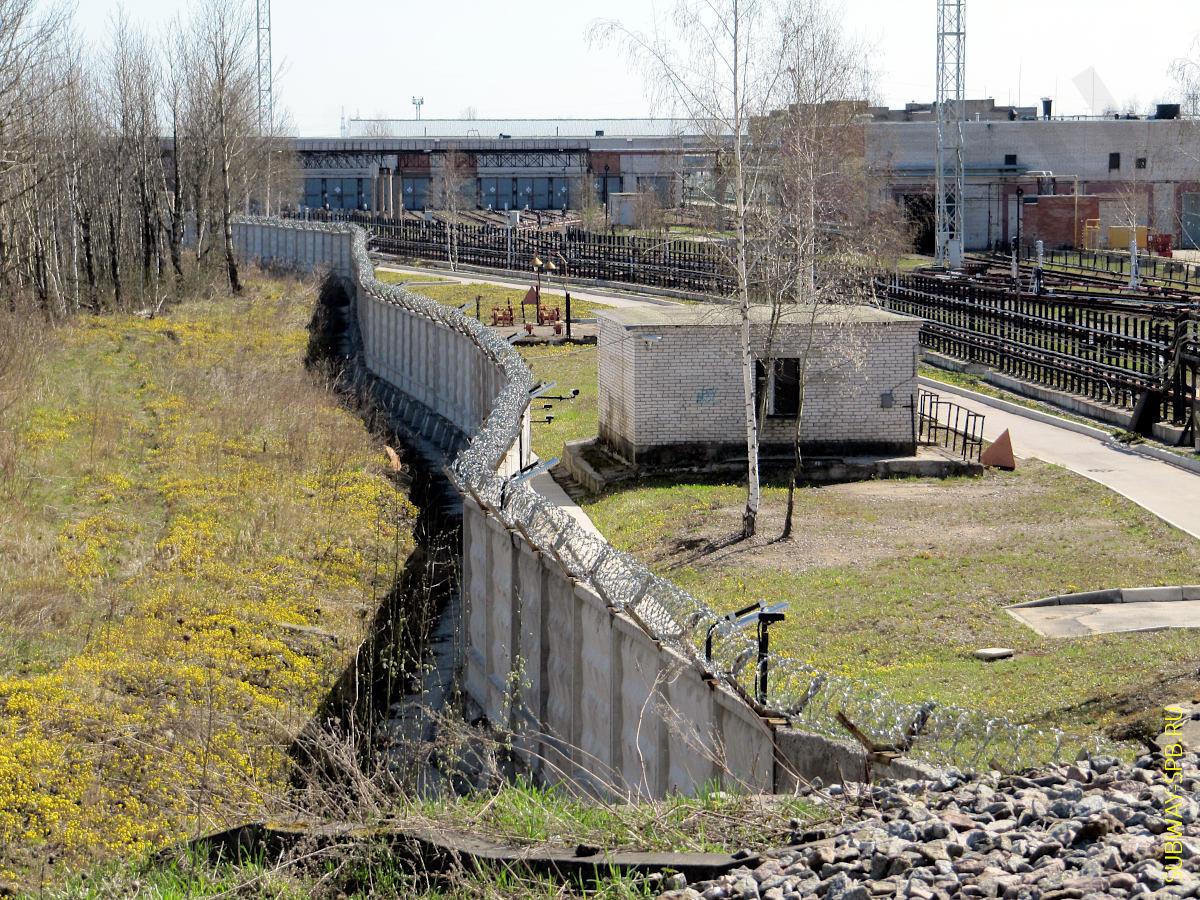 Депо метрополитена ТЧ-5 Невское, Санкт-Петербург