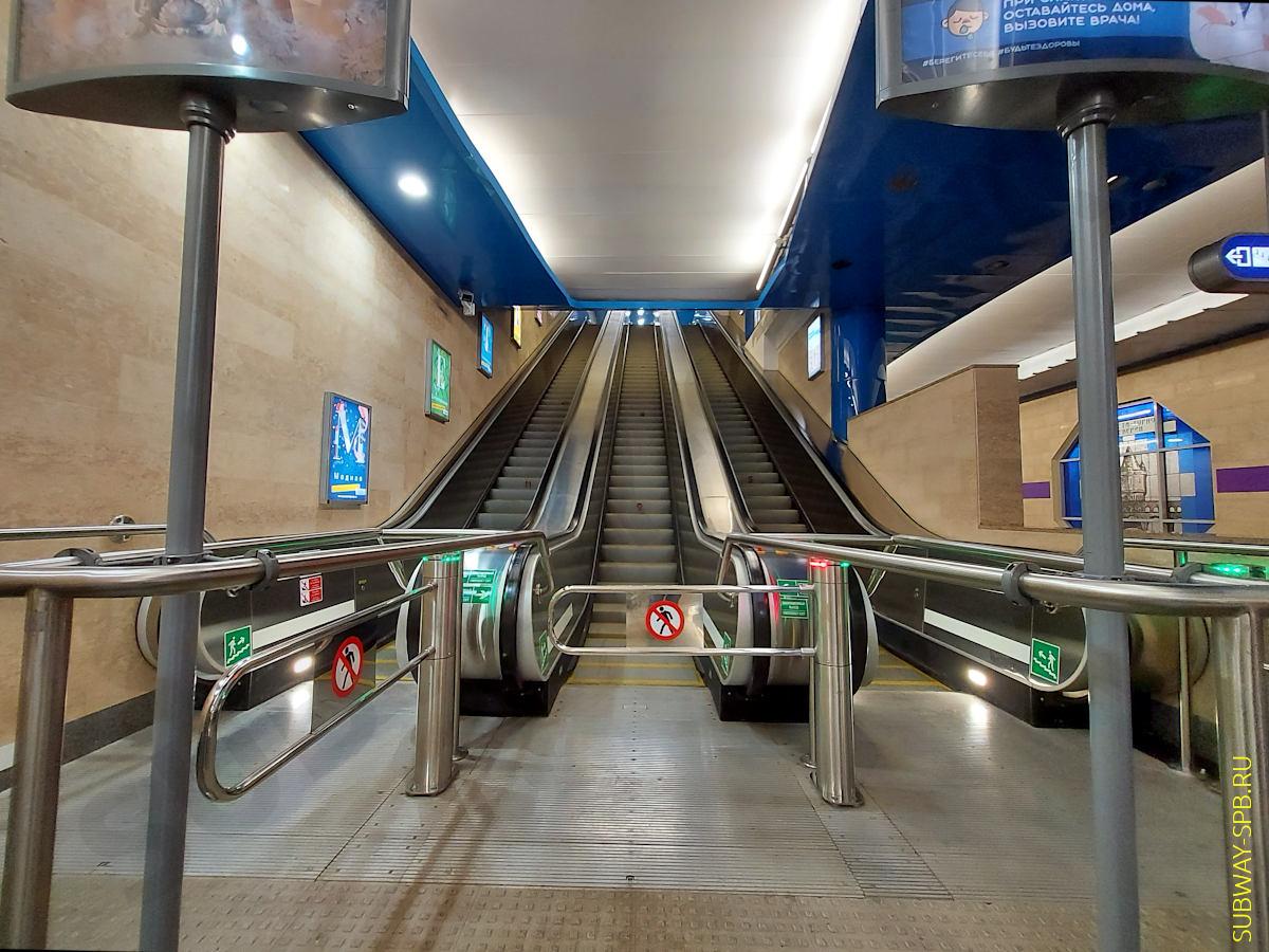 Dunaiskaya metro station, Saint-Petersburg