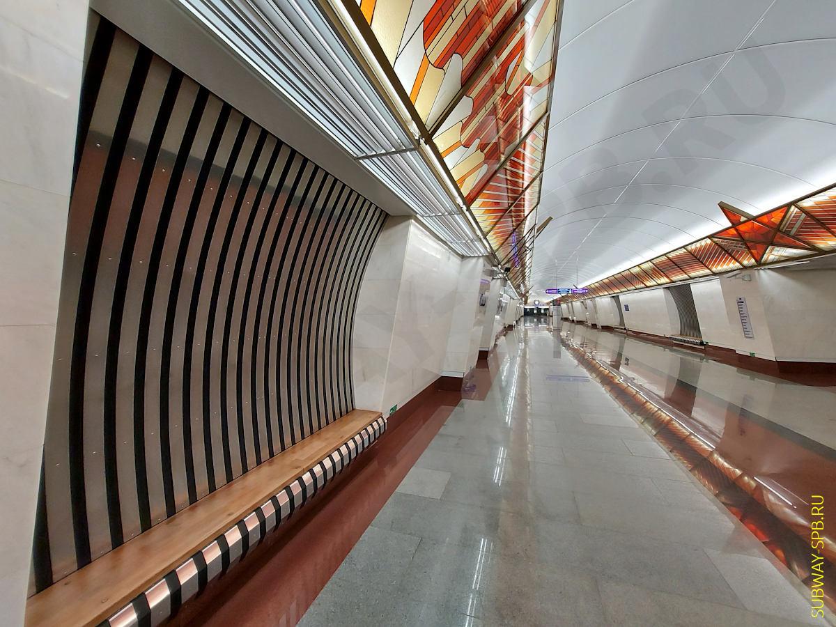 Станция метро Проспект Славы, Санкт-Петербург
