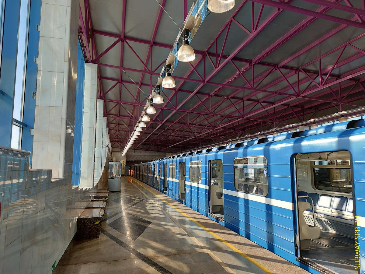 Shushary metro station, Saint-Petersburg