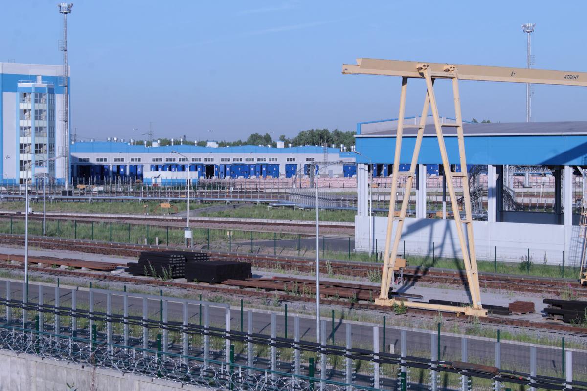 Subway depot TCh-7 Yuzhnoye, St. Petersburg