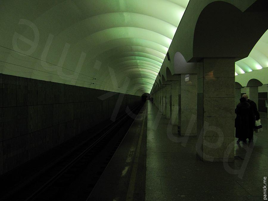 Питерское метро, станция Лесная
