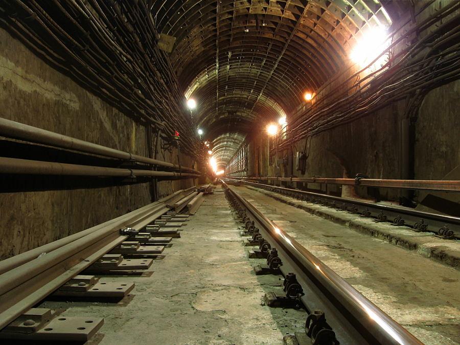 サンクトペテルブルクの地下鉄マヤコフスカヤ駅