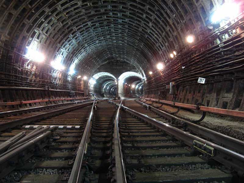 Connecting branch of Ploschad Alexandra Nevsky station, Saint-Petersburg metro